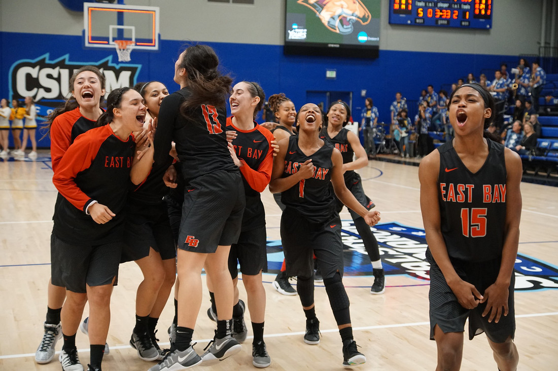 Cal State East Bay Women's Basketball Wins CCAA Championship