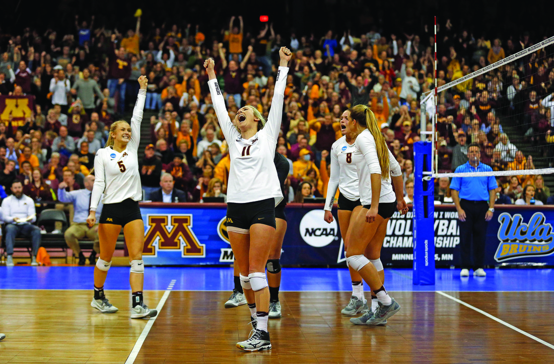 University of Minnesota women's volleyball team