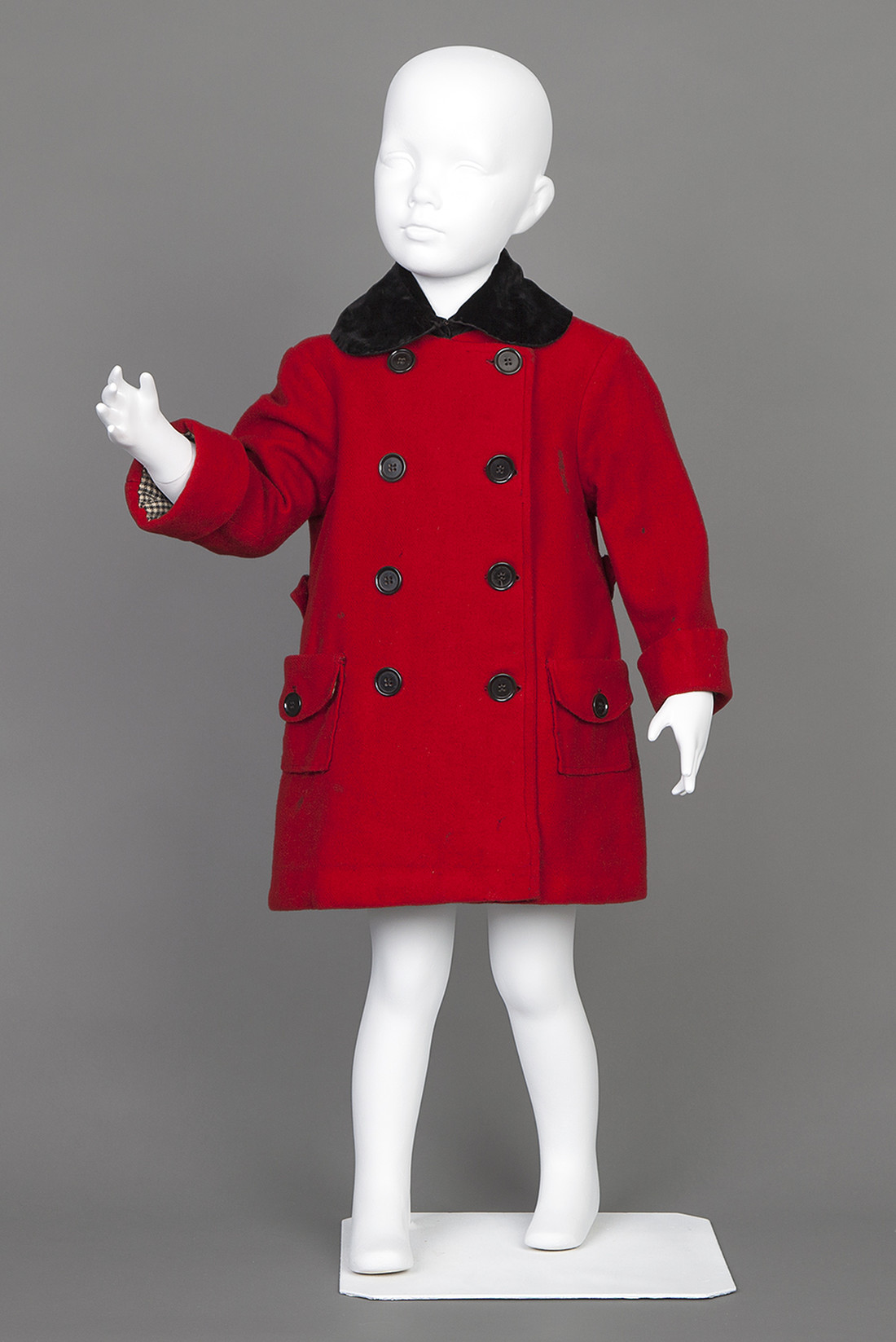 Child's red coat