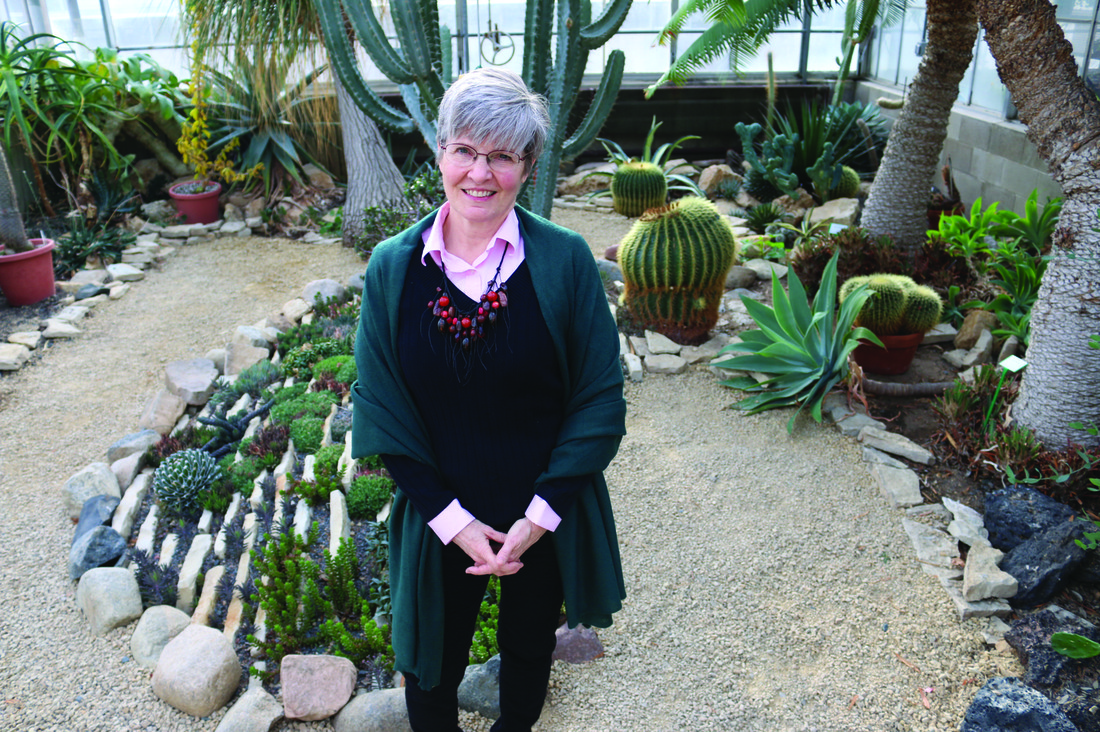 Image of Mary Kemen in the U's Conservatory