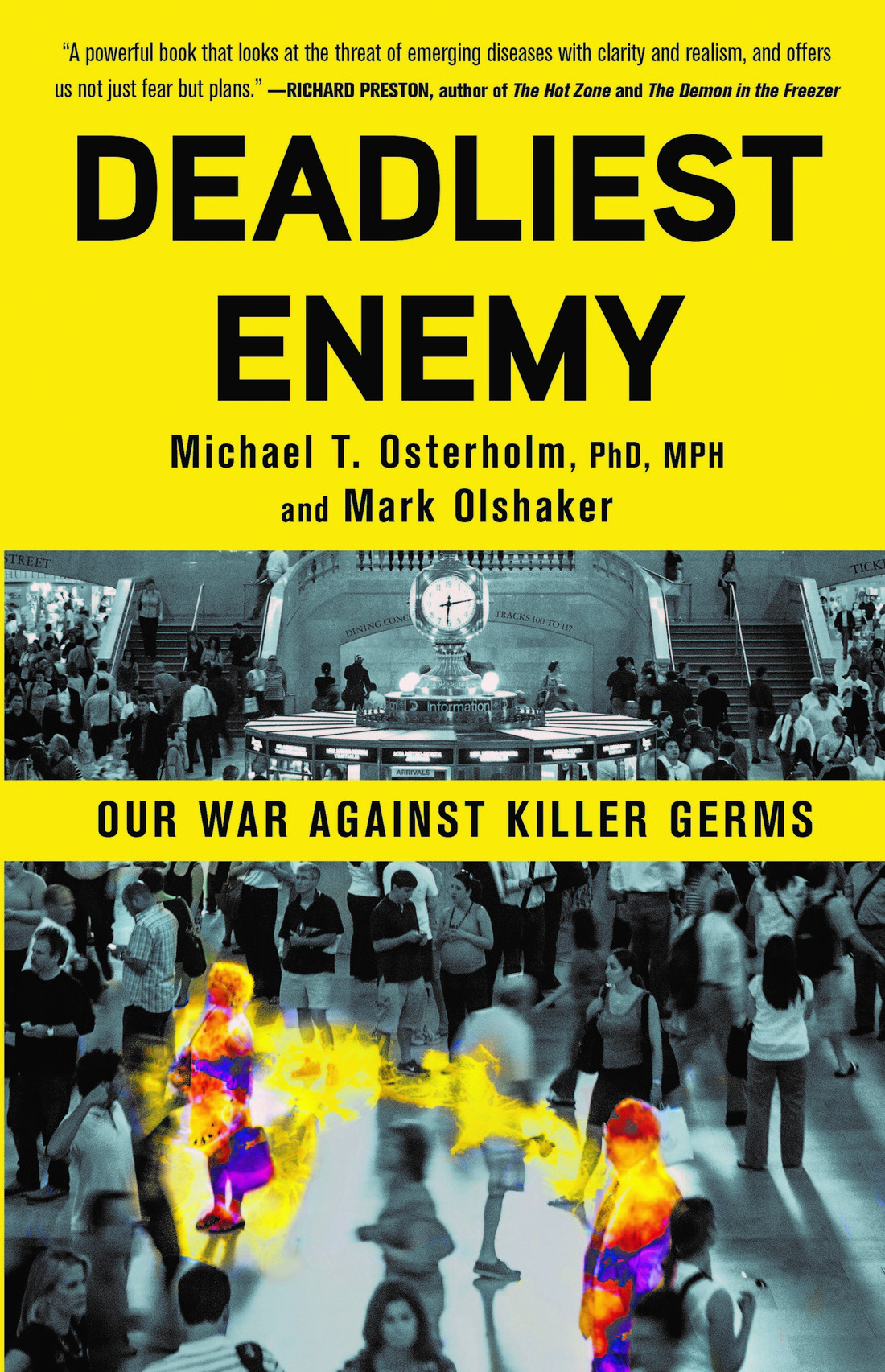 Book cover of Deadliest Enemy