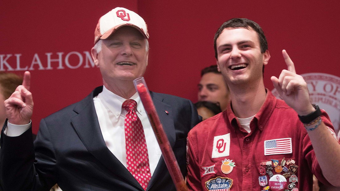 Gallogly Calls Return to OU a 'Homecoming'