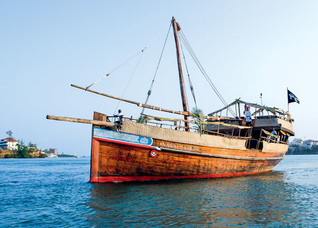 Setting Sail on the Tamarind Dhow