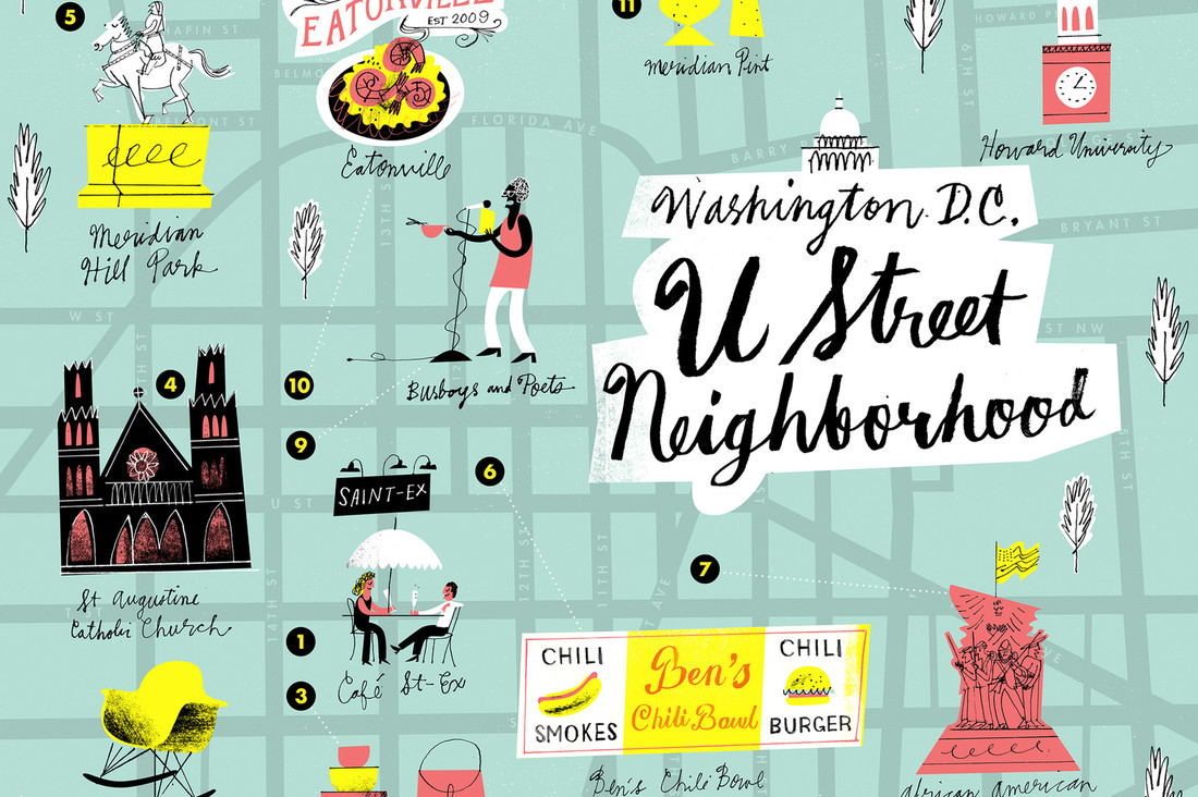 24 Hours in Washington, D.C.'s U-Street Neighborhood