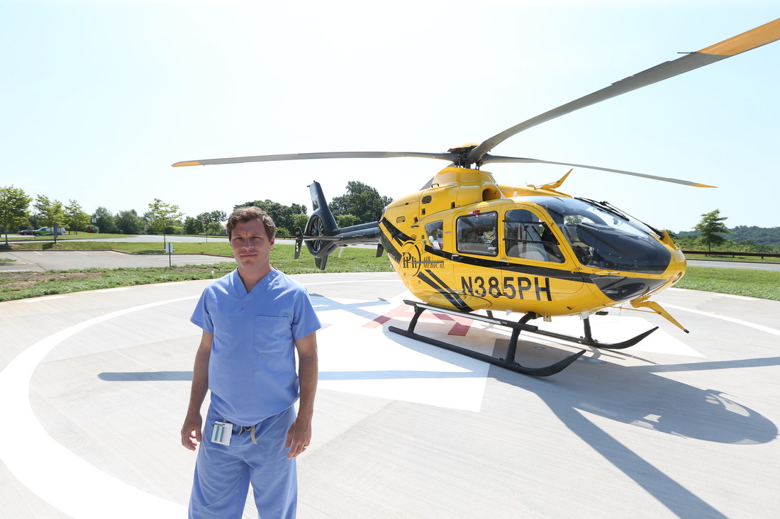 Stroke Care Takes Flight in the Blue Ridge Region