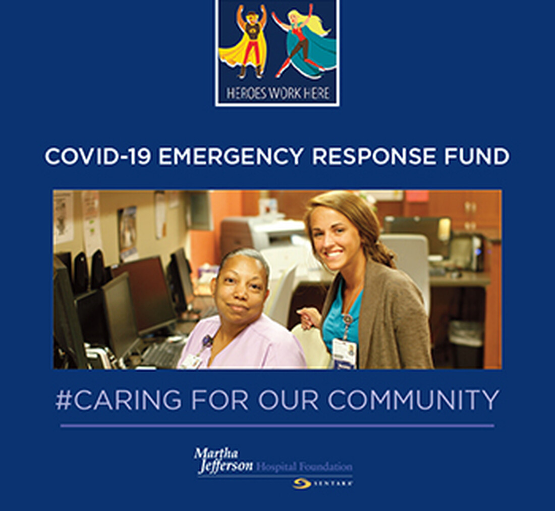 Mini-Story: The COVID-19 Emergency Response Fund at Sentara Martha Jefferson Hospital