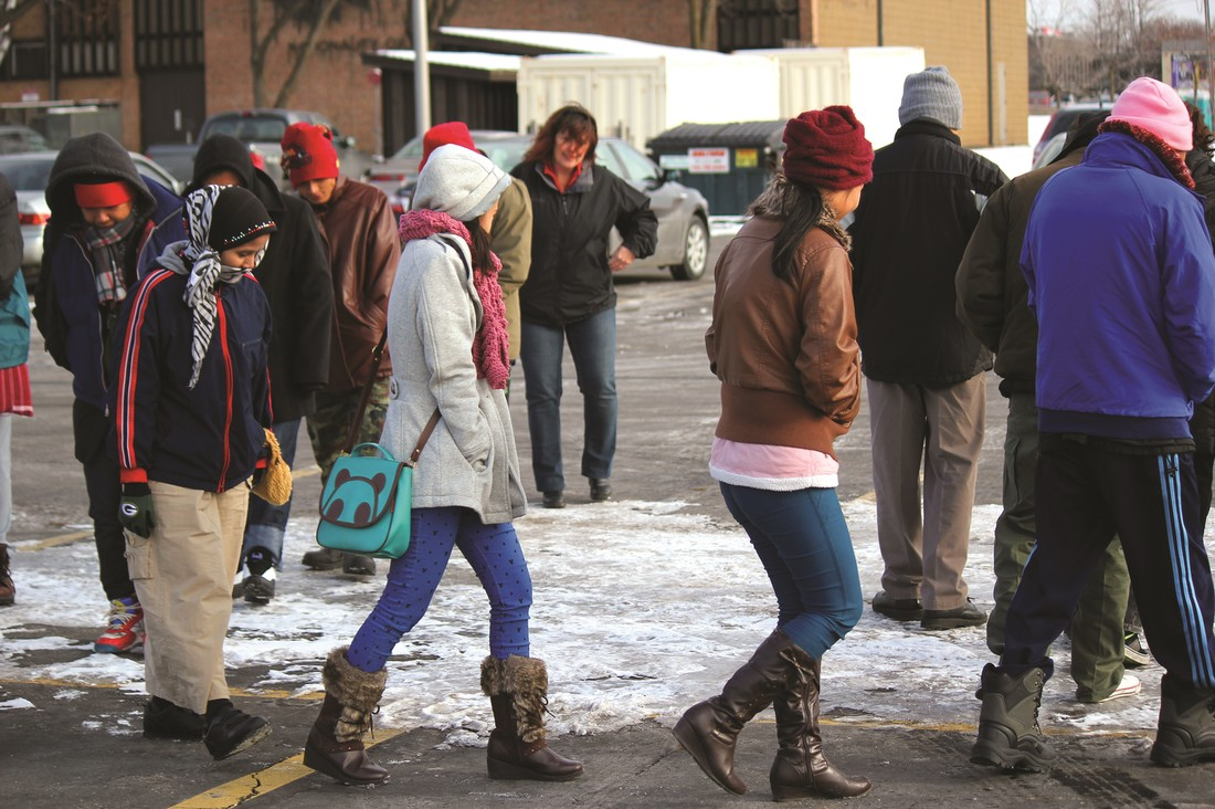 Helping Refugees Adjust to Snow, Ice, & College
