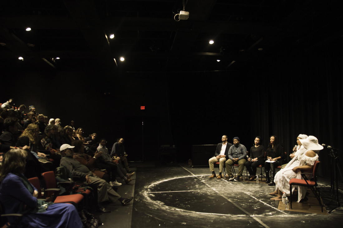 Run Mary Run talkback at UVA's Helms Theatre
