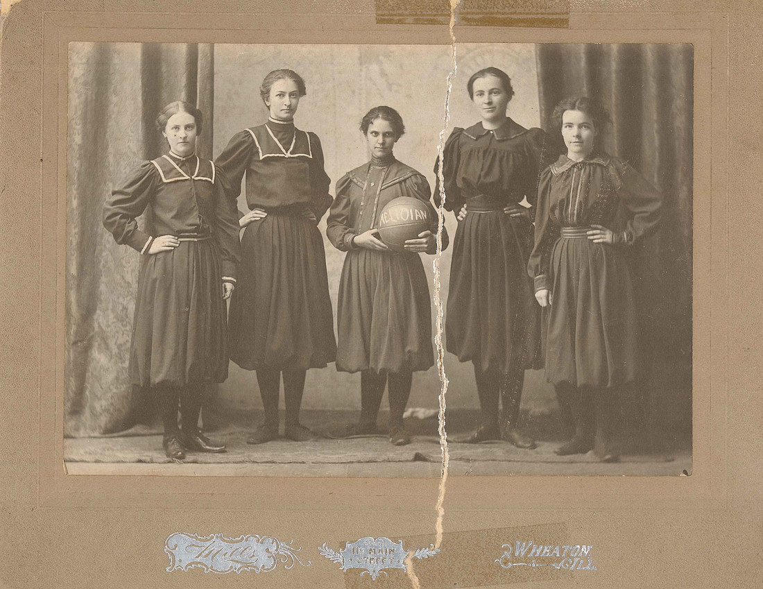 Wheaton Women's Basketball in 1899
