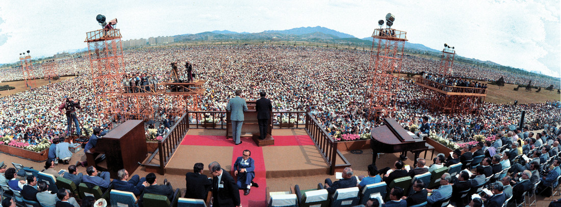 Billy Graham in South Korea